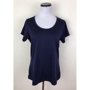 Bolle Navy Blue Active Short Sleeve Tee Shirt